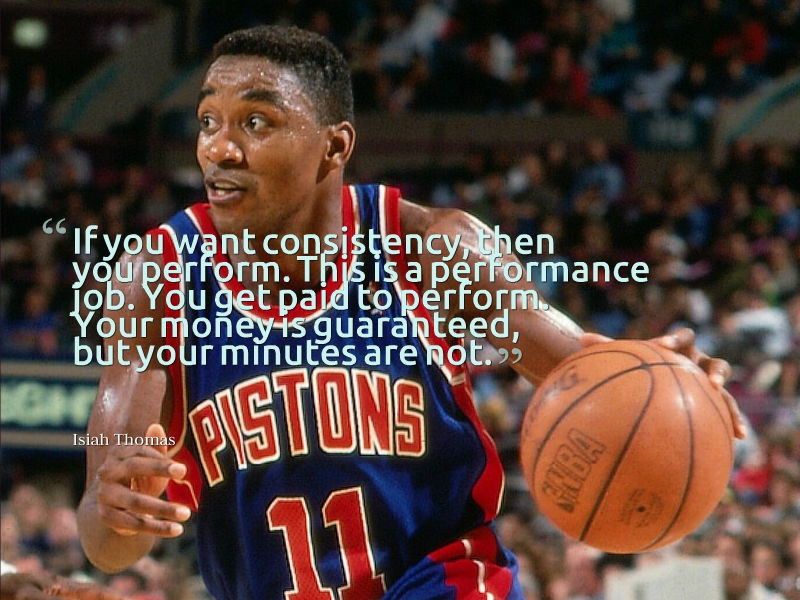 Isaiah Thomas Basketball Quote 1 Picture Quote #1