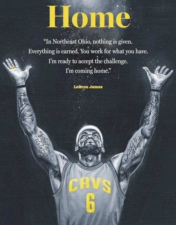 Basketball Quote Lebron James 2 Picture Quote #1