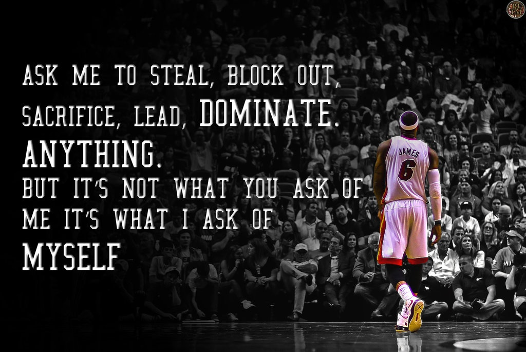 Basketball Quote Lebron James 3 Picture Quote #1