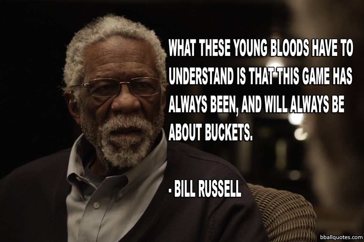 Bill Russell Basketball Quote 1 Picture Quote #1