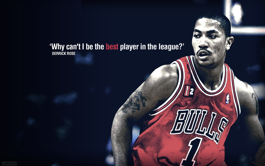 Basketball Quote Derrick Rose | Quote Number 569450 ...