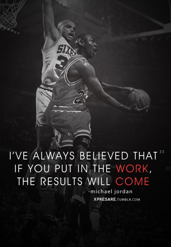 Michael Jordan Basketball Quote 1 Picture Quote #1