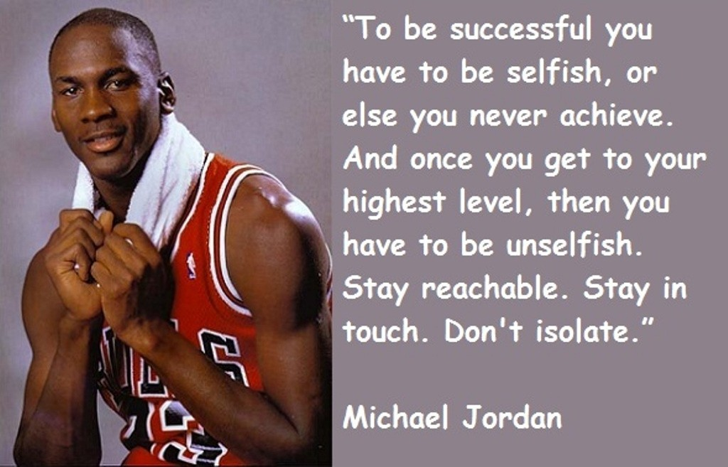 Michael Jordan Basketball Quote 2 Picture Quote #1