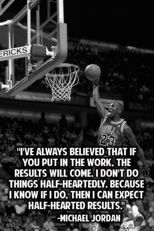 Michael Jordan Basketball Quote 4 Picture Quote #1