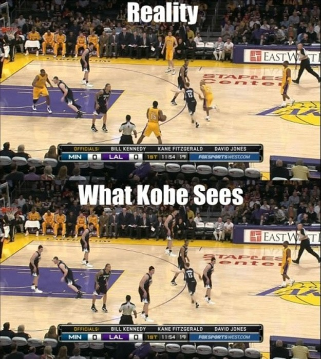 Funny Basketball Quote Kobe 2 Picture Quote #1