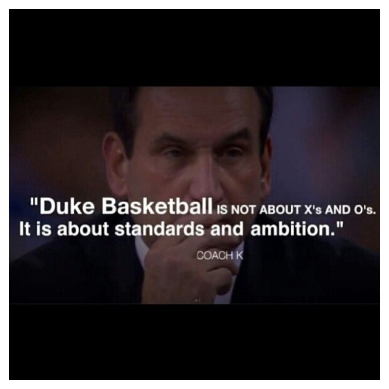 Coach K Duke Basketball Quote Quote Number 569730
