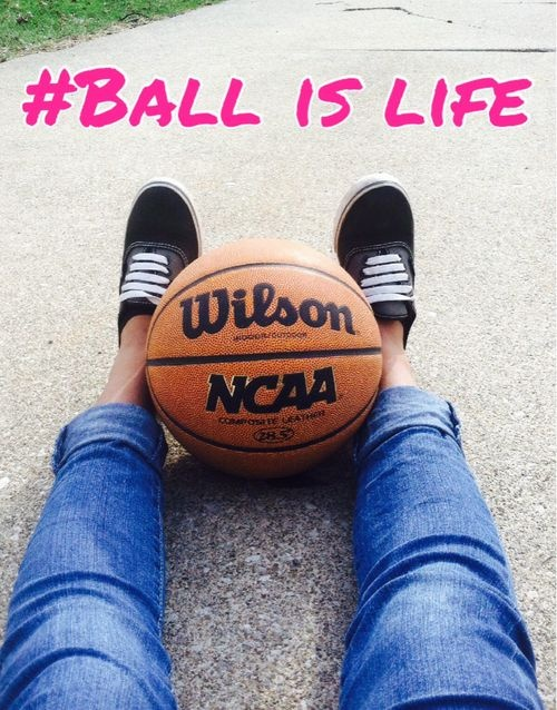 Ball Is Life Basketball Quote 1 Picture Quote #1