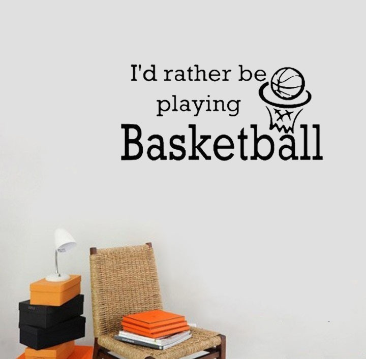 Basketball Quote For Walls 1 Picture Quote #1