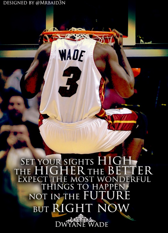 D Wade Basketball Quote 1 Picture Quote #1