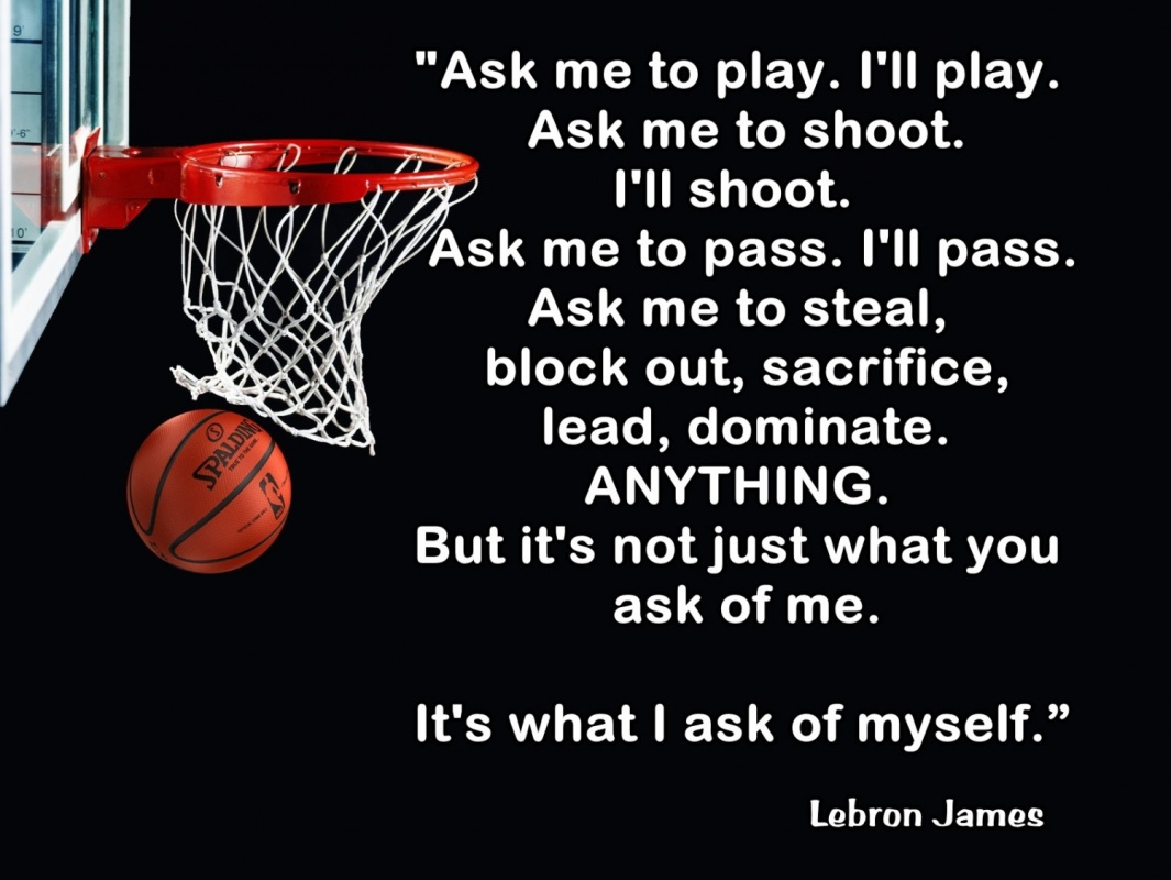Basketball Quote Lebron 2 Picture Quote #1