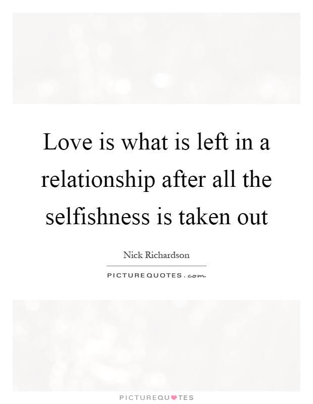 In A Relationship Quot...