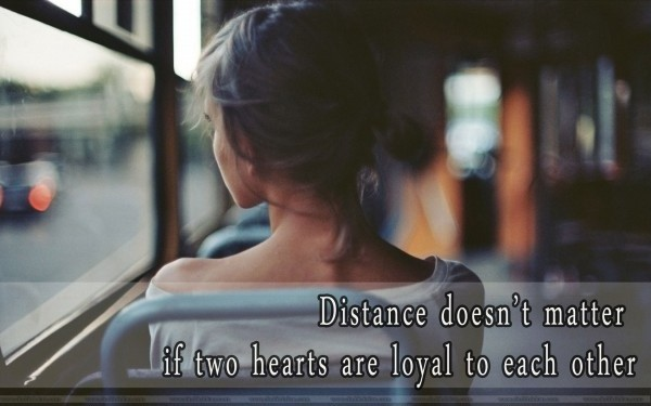 Inspirational Love Quote For Long Distance Relationships 1 Picture Quote #1