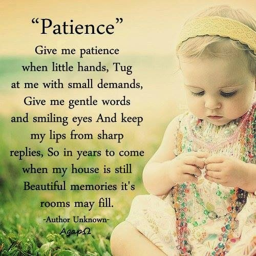 God Give Me Patience Quote 5 Picture Quote #1