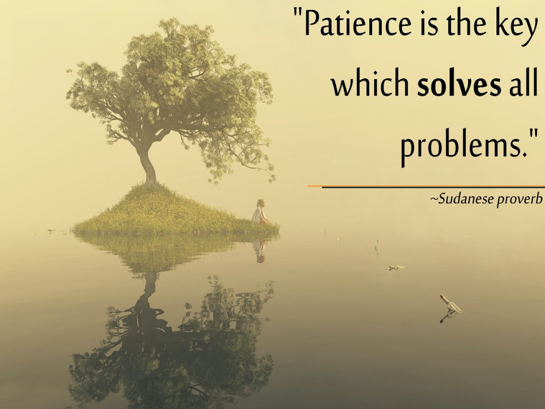 Tolerance And Patience Quote 1 Picture Quote #1