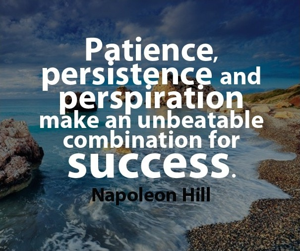 Patience Quote Success 1 Picture Quote #1