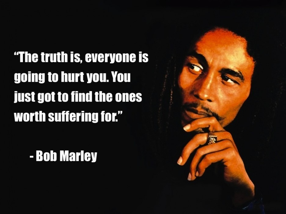 Famous Love Quote Bob Marley 1 Picture Quote #1