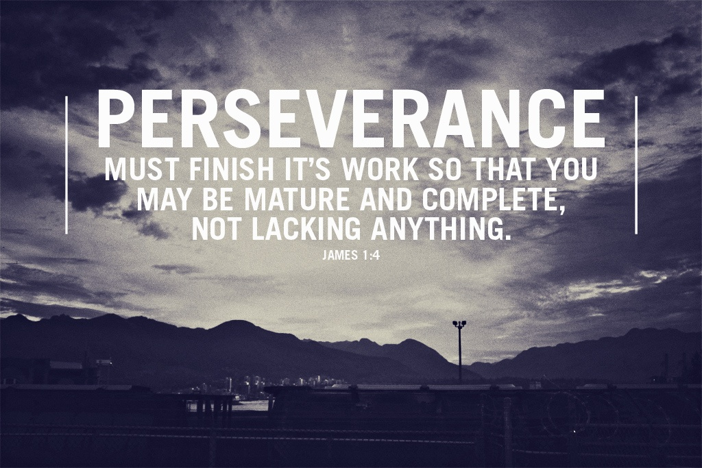 Perseverance Quote From The Bible 1 Picture Quote #1