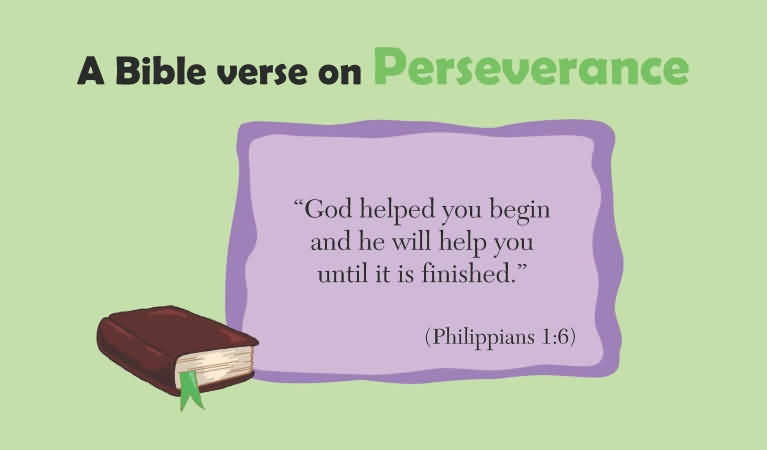 Perseverance Quote From The Bible 2 Picture Quote #1