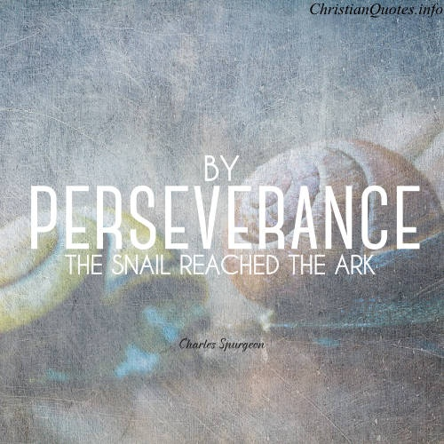 Christian Perseverance Quote 1 Picture Quote #1