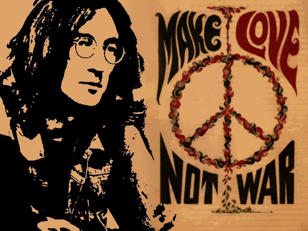 John Lennon Peace Quote 5 Picture Quote #1