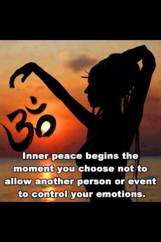 Finding Inner Peace Quote 4 Picture Quote #1