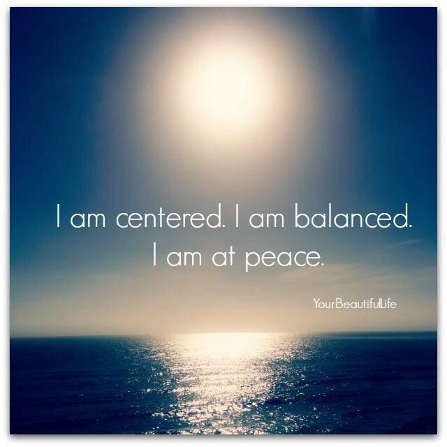 I Am At Peace Quote 1 Picture Quote #1