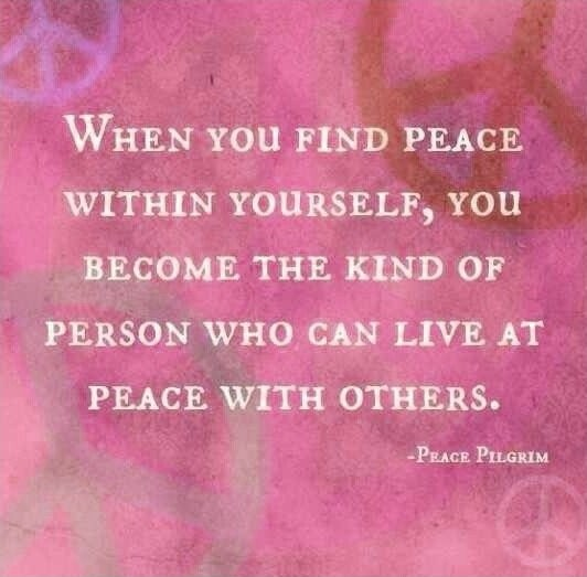 Inner Peace Quote 5 Picture Quote #1