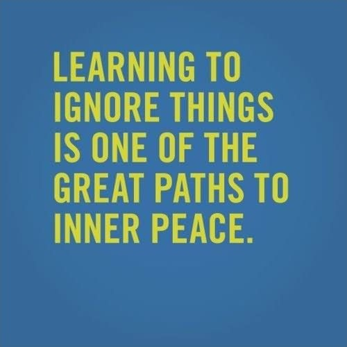 Learning To Be At Peace Quote 1 Picture Quote #1