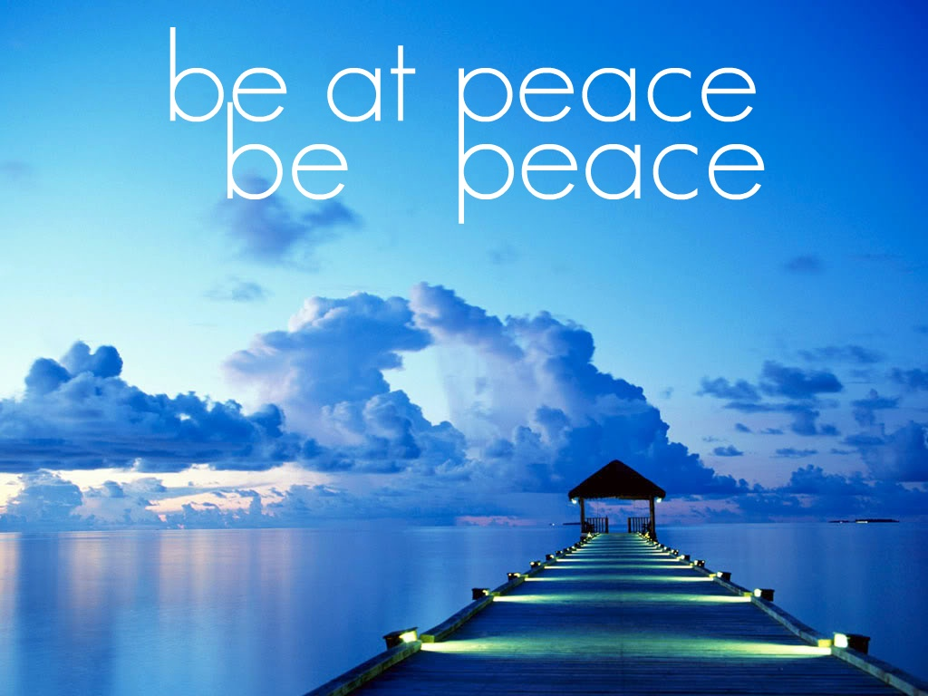 At Peace Quote 1 Picture Quote #1