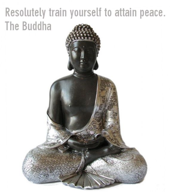 Buddhist Peace Quote 1 Picture Quote #1