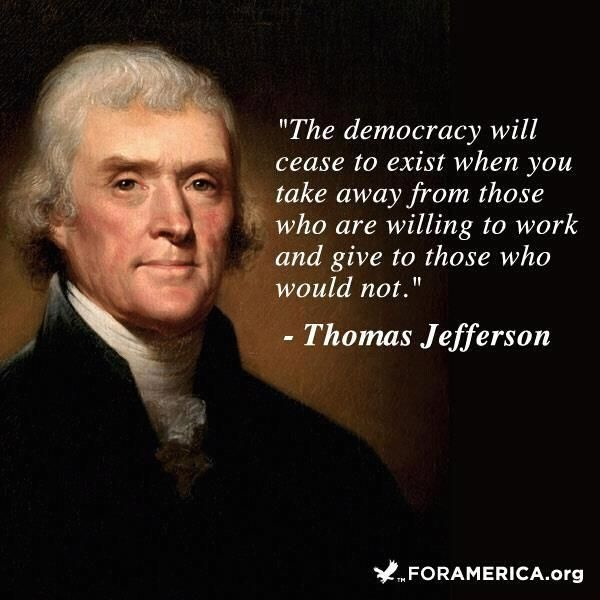 Thomas Jefferson Quote On America 1 Picture Quote #1