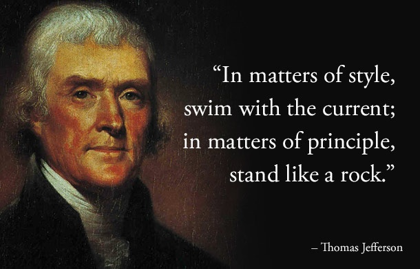 Thomas Jefferson Quote 4 Picture Quote #1