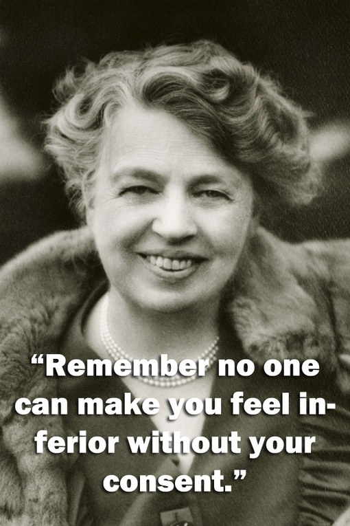 Eleanor Roosevelt Quote About Women 3 Picture Quote #1