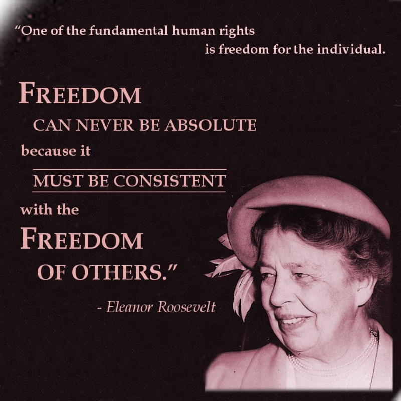 Eleanor Roosevelt Womens Rights Quote 1 Picture Quote #1