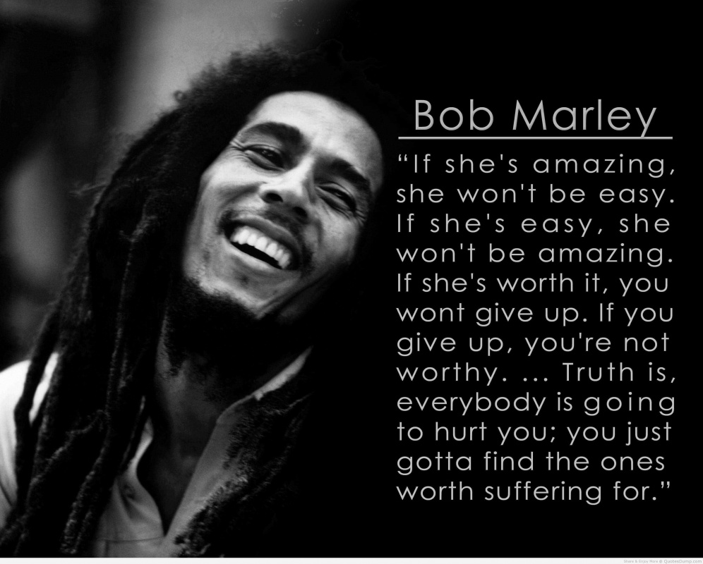 Bob Marley Quote 1 Picture Quote #1