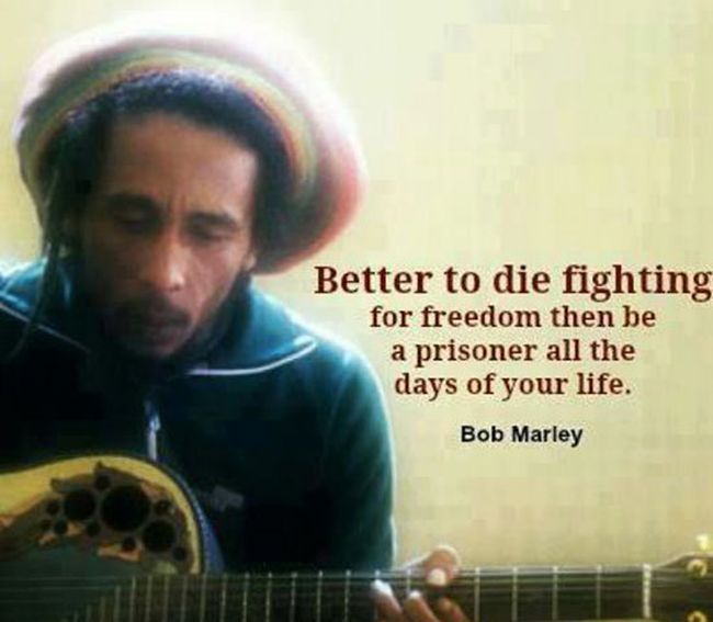 Inspirational Bob Marley Quote 2 Picture Quote #1
