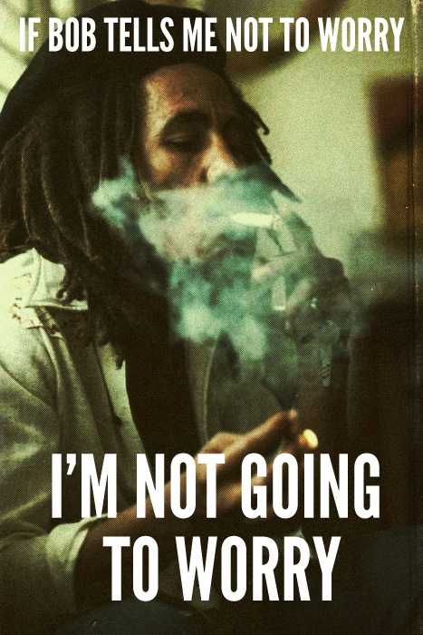 Happy Bob Marley Quote 1 Picture Quote #1