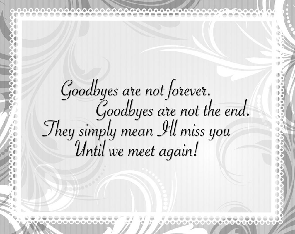 Senior Farewell Quote 1 Picture Quote #1