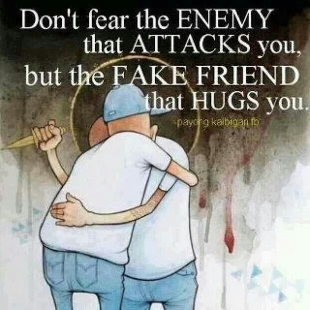 Fake Friends Vs Real Friends Quote 4 Picture Quote #1