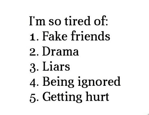 Quotes About Fake Friendship Interesting Im Tired Of Fake Friends Quote  Quote Number 573267  Picture Quotes
