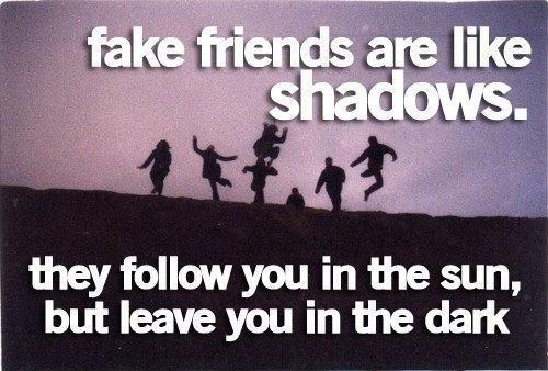 Fake Friends Quote 10 Picture Quote #1