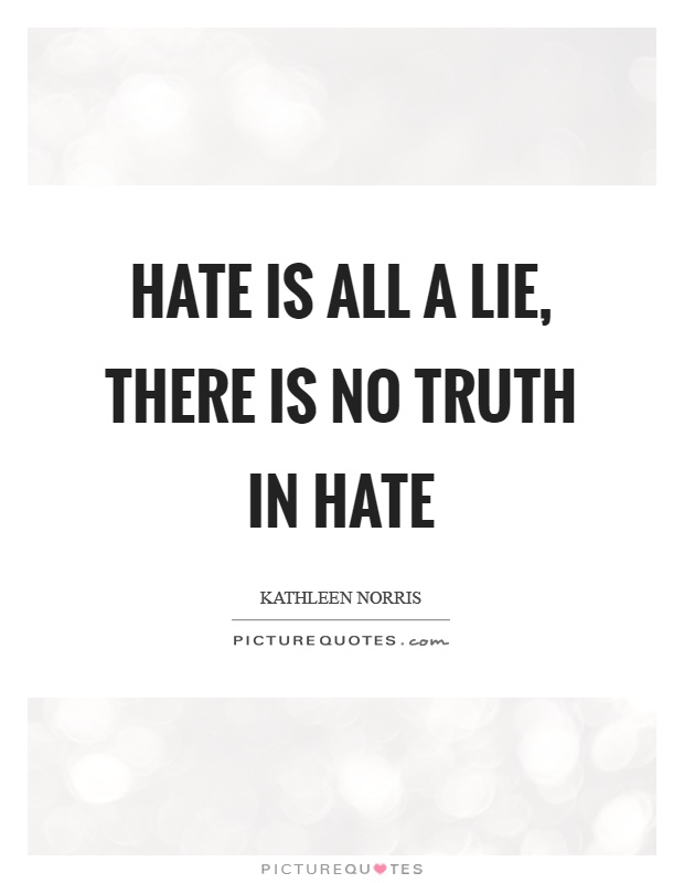 i hate people who lie quotes - photo #40