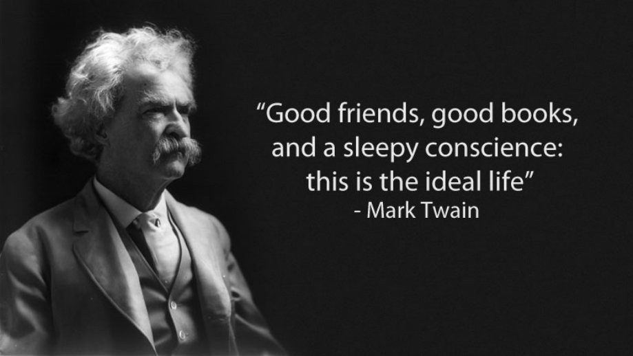 Mark Twain Famous Quote About Life 1 Picture Quote #1