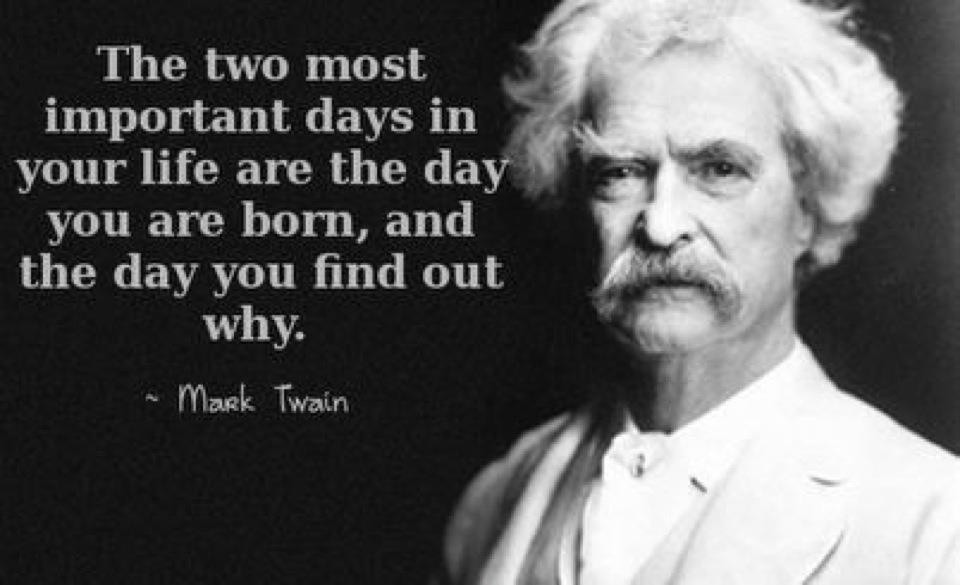 Mark Twain Famous Quote About Life 2 Picture Quote #1