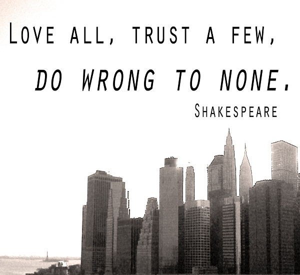 Shakespeare Famous Quote About Life 2 Picture Quote #1