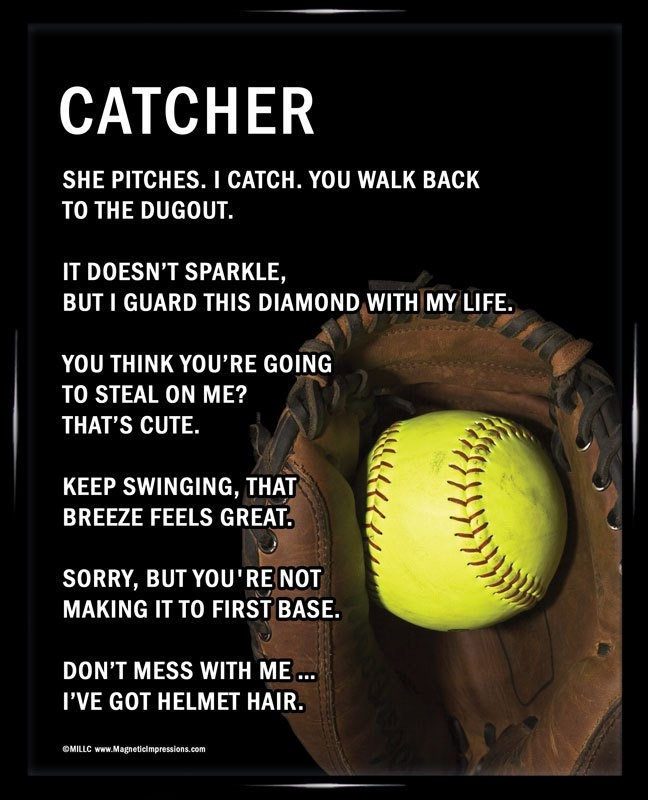 Delightful Softball Quote 8 Picture Quote #1 Awesome Ideas