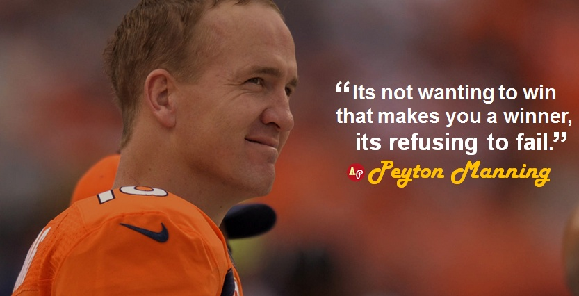 Peyton Manning Football Quote 1 Picture Quote #1