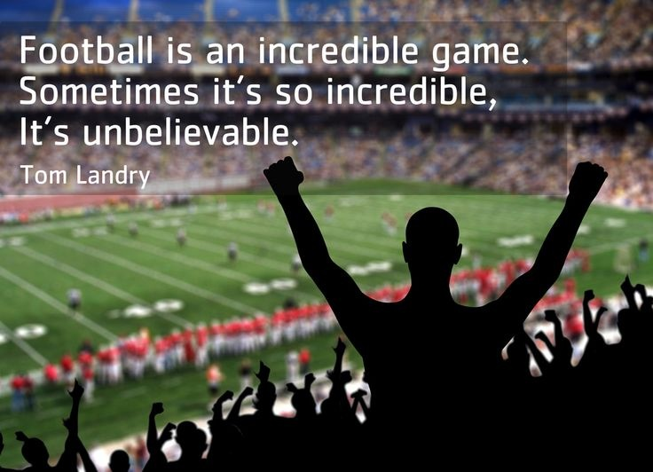 Tom Landry Football Quote 2 Picture Quote #1