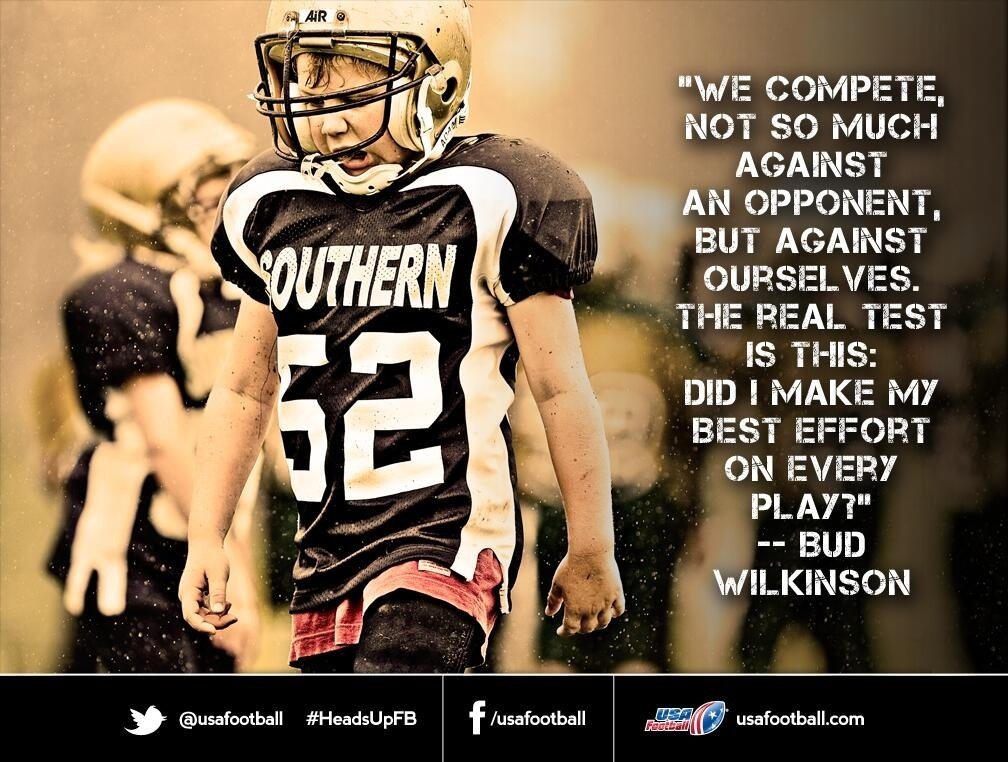 Football Quote 12 Picture Quote #1