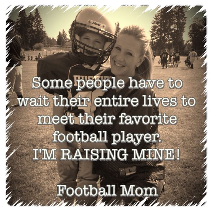 Football Quote About Moms | Quote Number 575152 | Picture Quotes